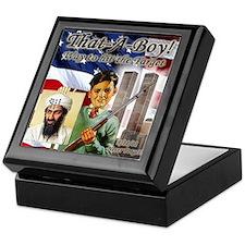 Osam Bin laden target anti te Keepsake Box