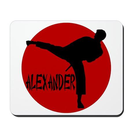 Alexander Martial Arts Mousepad