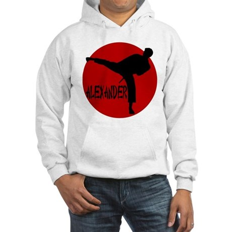 Alexander Martial Arts Hooded Sweatshirt