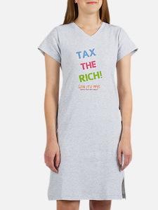 Tax the Rich Women's Nightshirt