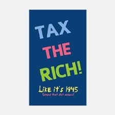 Tax the Rich Decal