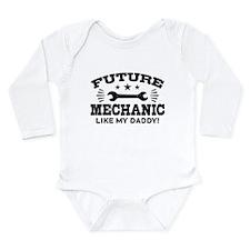 Future Mechanic Long Sleeve Infant Bodysuit
