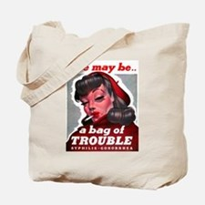 No Bad Evil Women Tote Bag