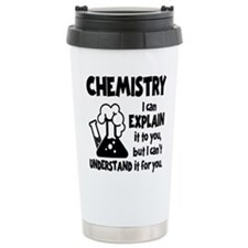 CHEMISTRY Travel Coffee Mug
