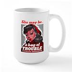 No Bad Evil Women Large Mug