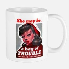 No Bad Evil Women Mug