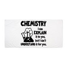 CHEMISTRY Beach Towel