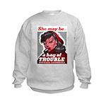 No Bad Evil Women Kids Sweatshirt