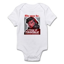 No Bad Evil Women Infant Bodysuit