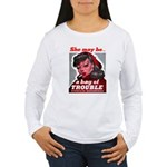 No Bad Evil Women Women's Long Sleeve T-Shirt