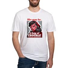 No Bad Evil Women Shirt