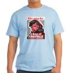 No Bad Evil Women Light T-Shirt