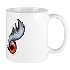 Northern Goshawk - White letters Mug