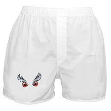 Northern Goshawk - White letters Boxer Shorts