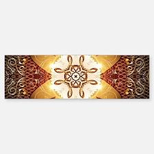 Elegant, decorative kaleidoskop Bumper Bumper Bumper Sticker