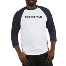 Eat Local Baseball Jersey