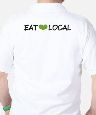 Eat Local Golf Shirt