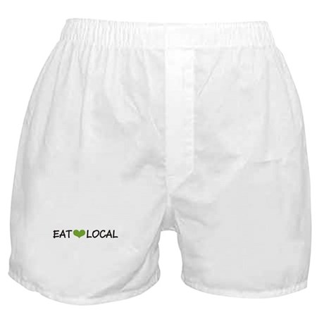 Eat Local Boxer Shorts