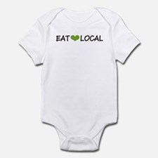 Eat Local Infant Bodysuit
