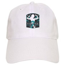 Cervical Cancer Fighter Diva Baseball Baseball Cap