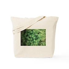 Marajuana Weed Pot Tote Bag