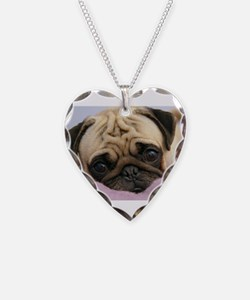 Pug Puppy Necklace