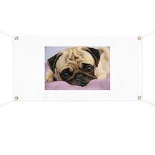 Pug Puppy Banner