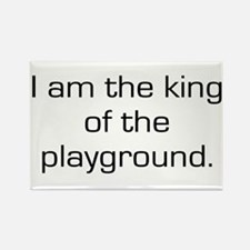 King of Playground Rectangle Magnet