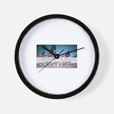 Memorial Day Wall Clock