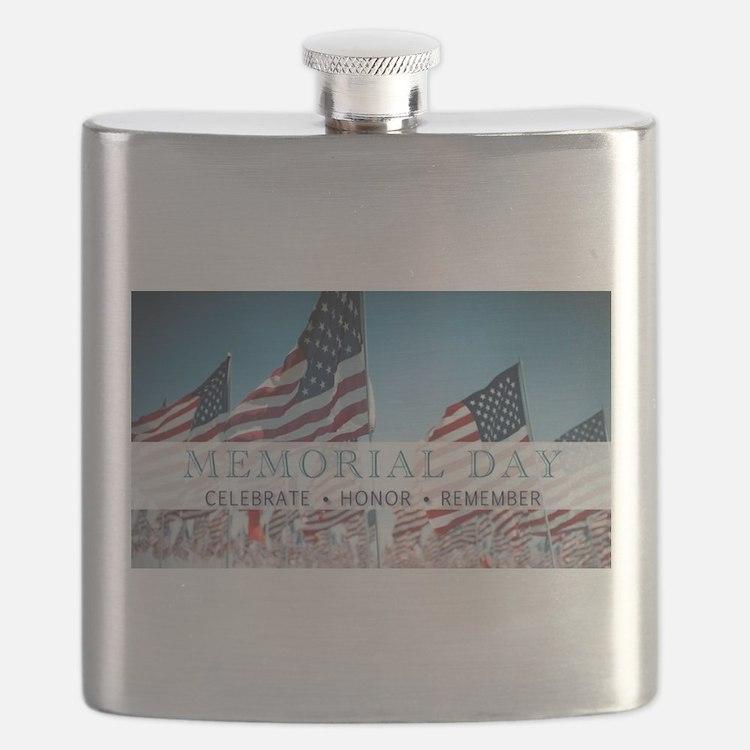 Memorial Day Flask