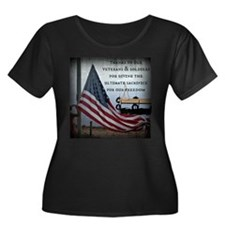 Memorial Day Plus Size T-Shirt