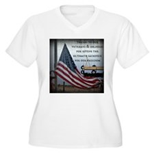 Memorial Day Plus Size T-Shirt
