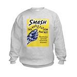 Stop Prostitution (Front) Kids Sweatshirt