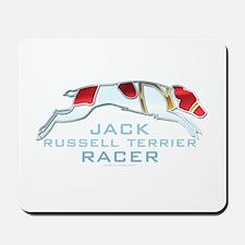 Jack Russell Terrier Racer Mousepad
