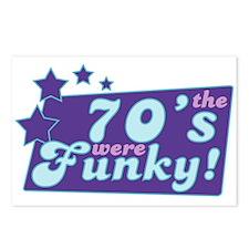 Funky Seventies Postcards (Package of 8)