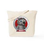 Binky's Red Portrait Tote Bag
