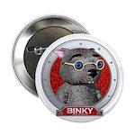 Binky's Red Portrait Button