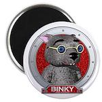 Binky's Red Portrait Magnet