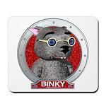 Binky's Red Portrait Mousepad