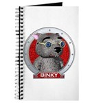 Binky's Red Portrait Journal