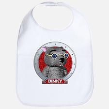 Binky's Red Portrait Bib