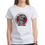 Binky's Red Portrait Women's T-Shirt