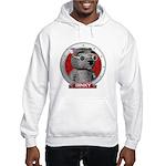 Binky's Red Portrait Hooded Sweatshirt