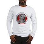 Binky's Red Portrait Long Sleeve T-Shirt