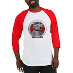 Binky's Red Portrait Baseball Jersey