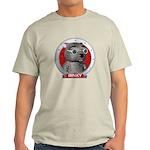 Binky's Red Portrait Light T-Shirt