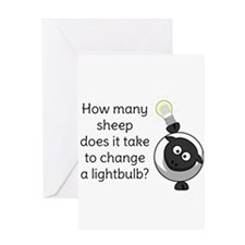 How Many Sheep Does It Take Greeting Cards