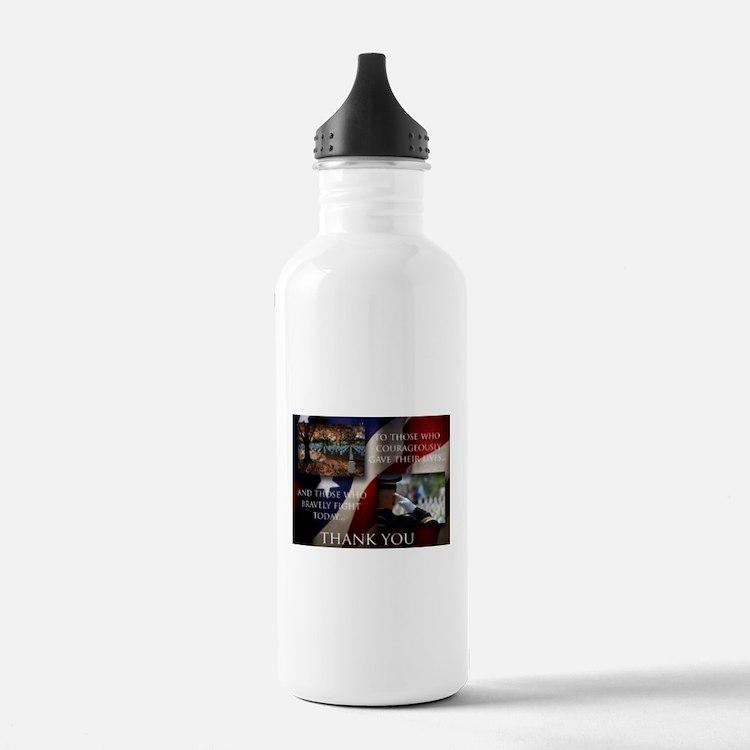 Memorial Day Water Bottle