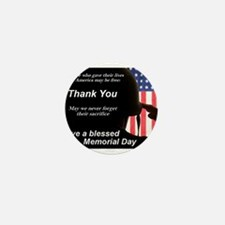 Memorial Day Mini Button (10 pack)