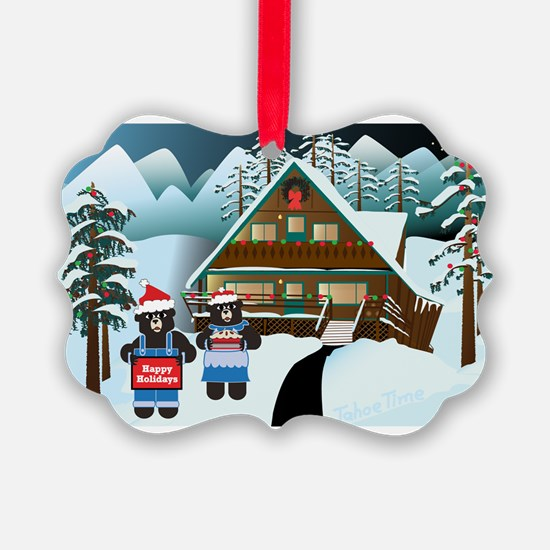Winter Bears Ornament